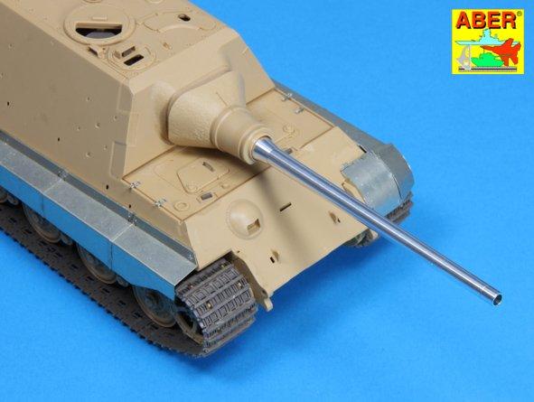 Aber 1//35 SdKfz.186 Jagdtiger 128mm PaK 44 L//55 Gun Barrel for Takom Models