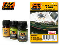 AK 063 SLIMY GRIME AND FUEL SET