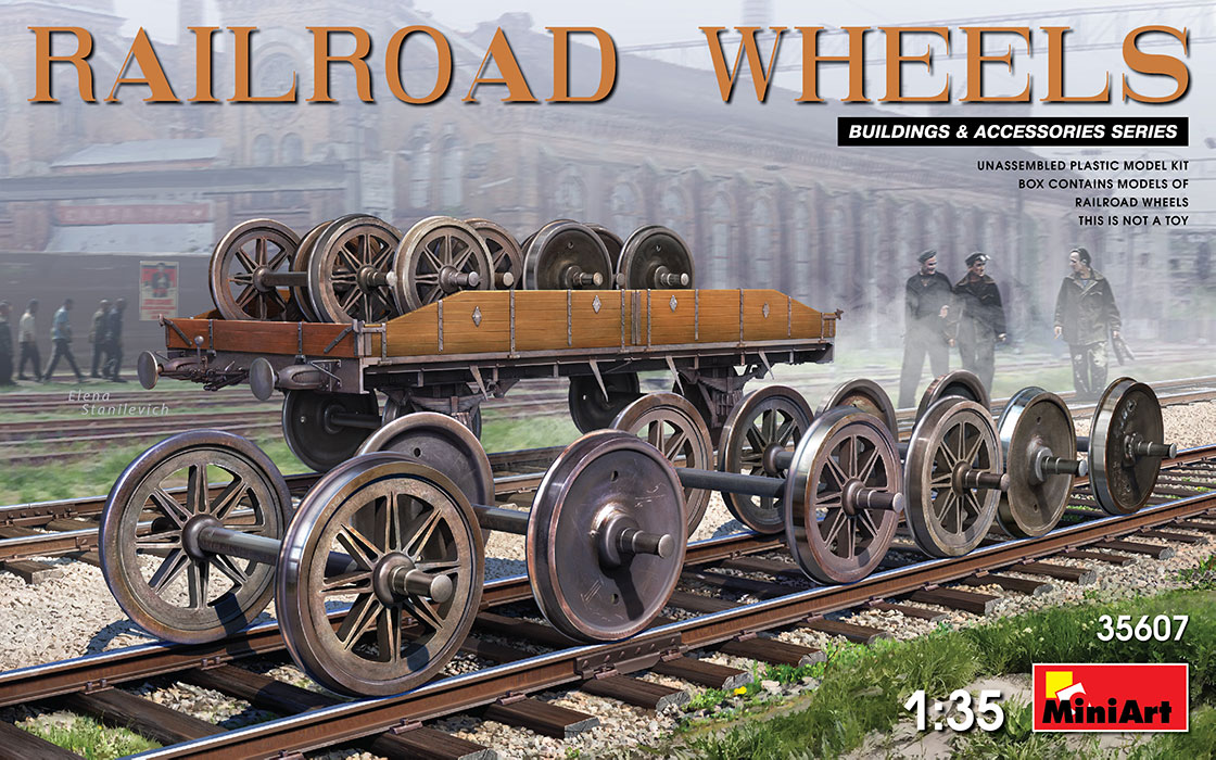 Railroad wheels - Image 1