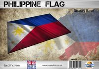 Philippine Flag 297 x 210mm