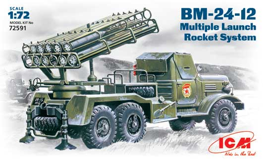 BM-24-12 Soviet Mutiple Launch Rocket System - Image 1