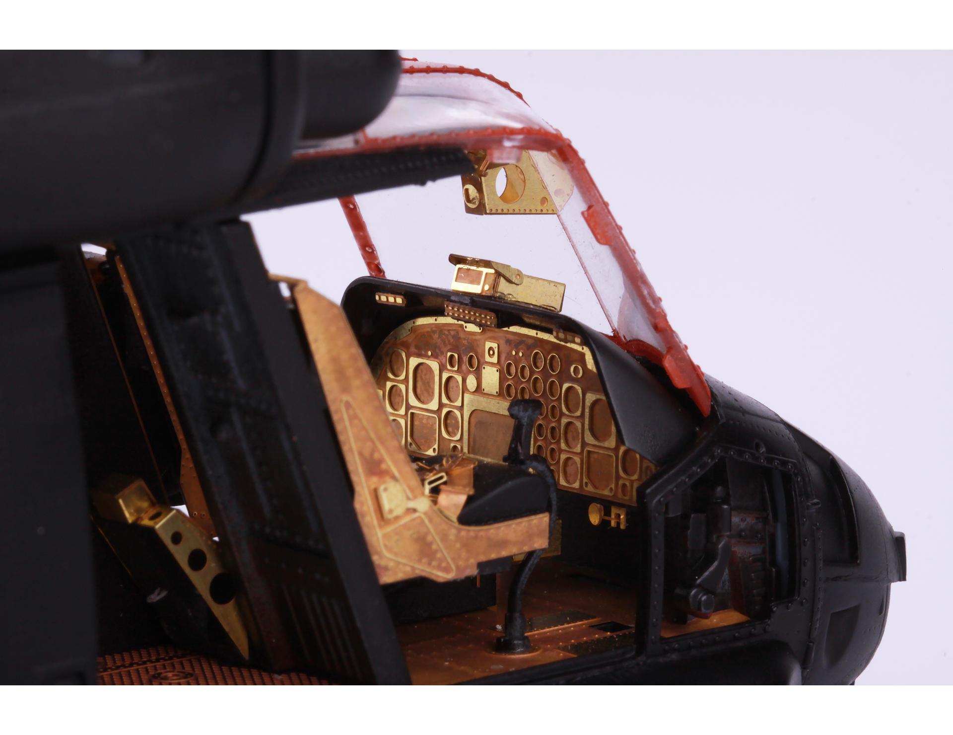 for Kitty Hawk Black Dog 1//48 SH-2G Super Seasprite Helicopter Engine A48028