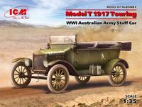 Model T 1917 Touring WWI Australian Army Staff Car