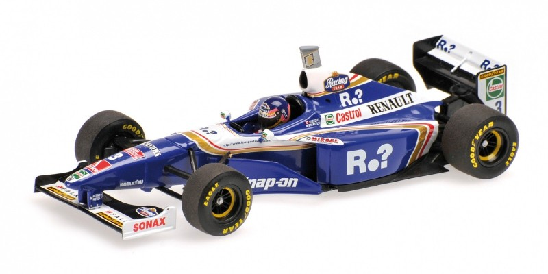 Williams Renault FW19 #3 Jacques Villeneuve World Champion 1997 High Cover - Image 1