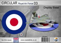 Circular Display Base Royal Air Force 3 200mm