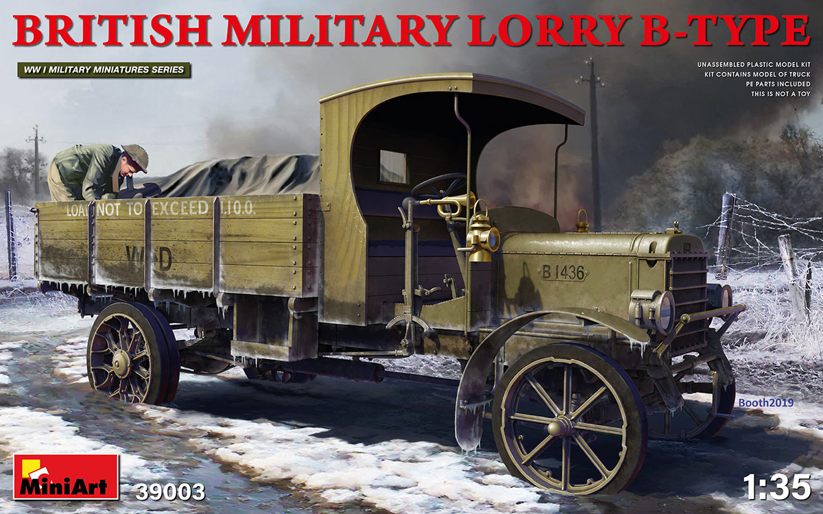 British Military Lorry B-Type - Image 1