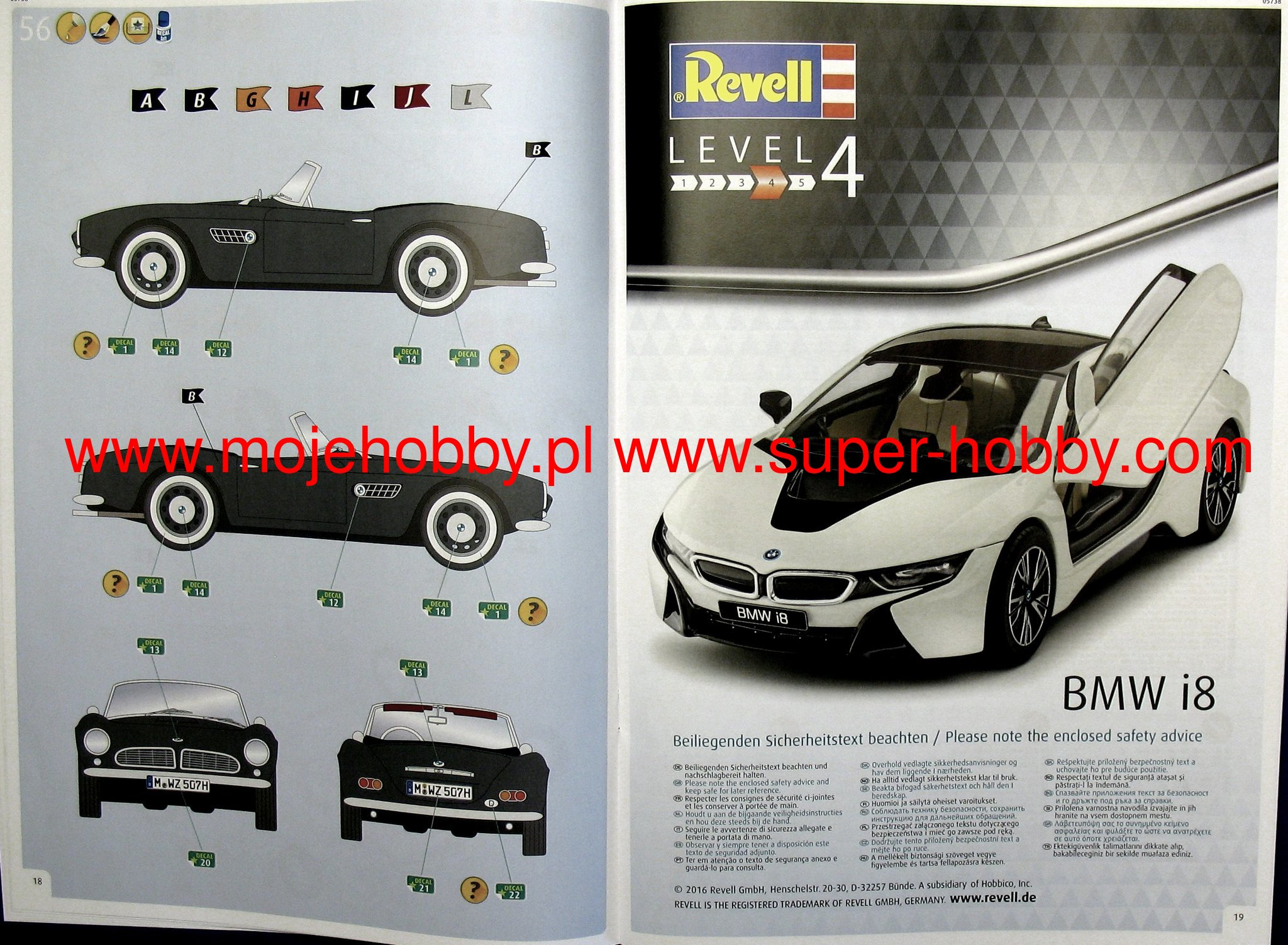 100 Years Bmw Gift Set Revell 05738