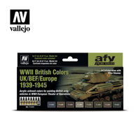 71614 WWII British Colors UK/BEF/Europe 1939-1945 Set - Image 1