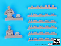 King Tiger tank crew plus detail set for Tamiya - Image 1