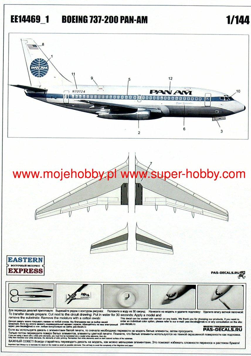 Boeing 737-200 Pan Am