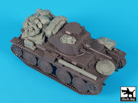 German Panzer  38(t) ausf E/F accessories set
