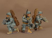 Snipers group 82-st Airborne Division 3 figures