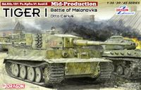 Tiger I Mid-Production w/Zimmerit Otto Carius Battle of Malinava Village 1944 - Image 1