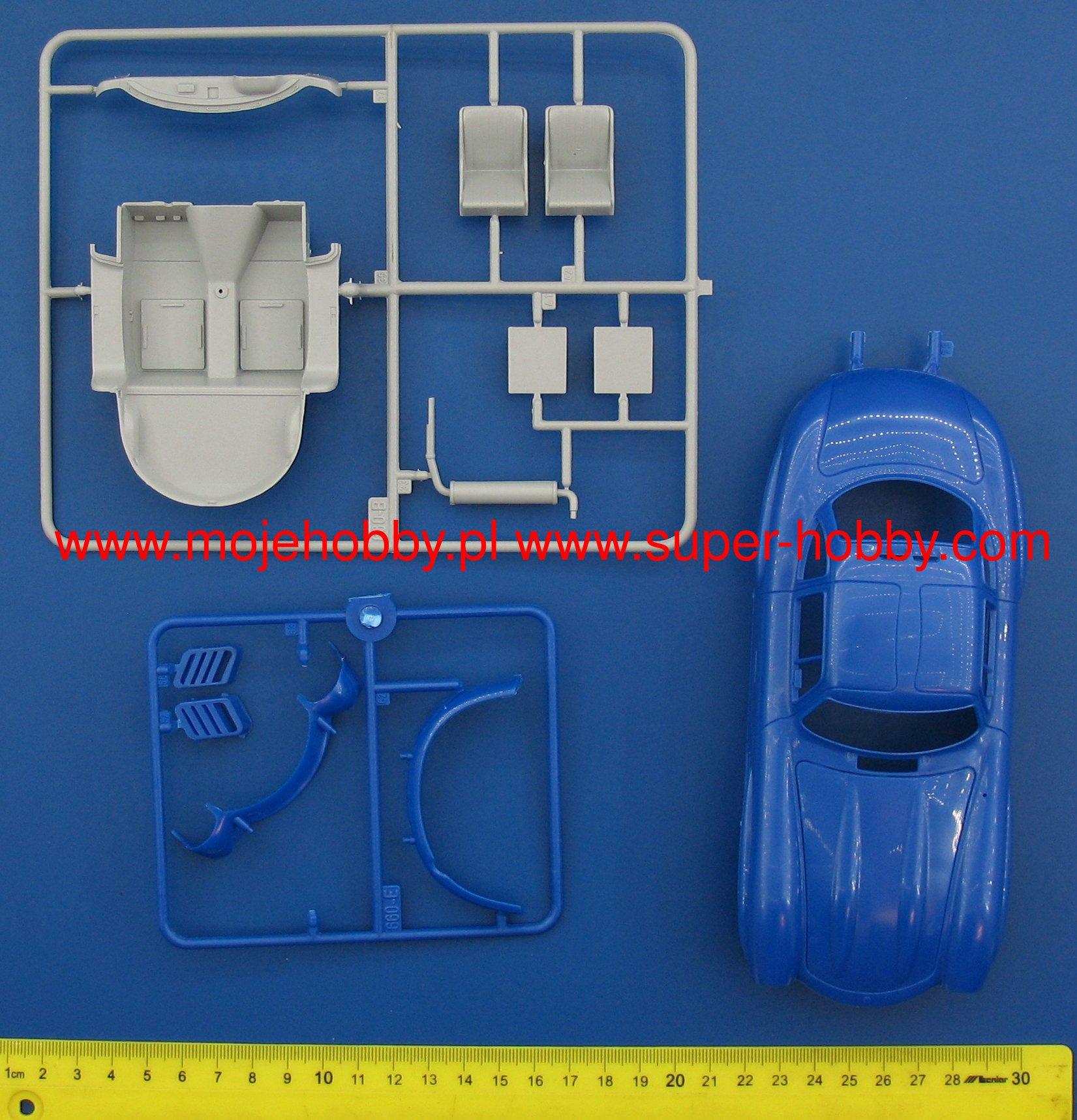 Mercedes Benz 300 SL Gullwing Italeri 3645