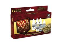 70155 War Games Paint Series - German Armor Paint Set