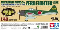 Mitsubishi A6M5/5a Zero Fighter (Zeke) Silver Plated - Image 1