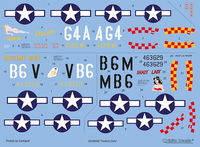 "North American P-51D ""Yoxford Girls"""