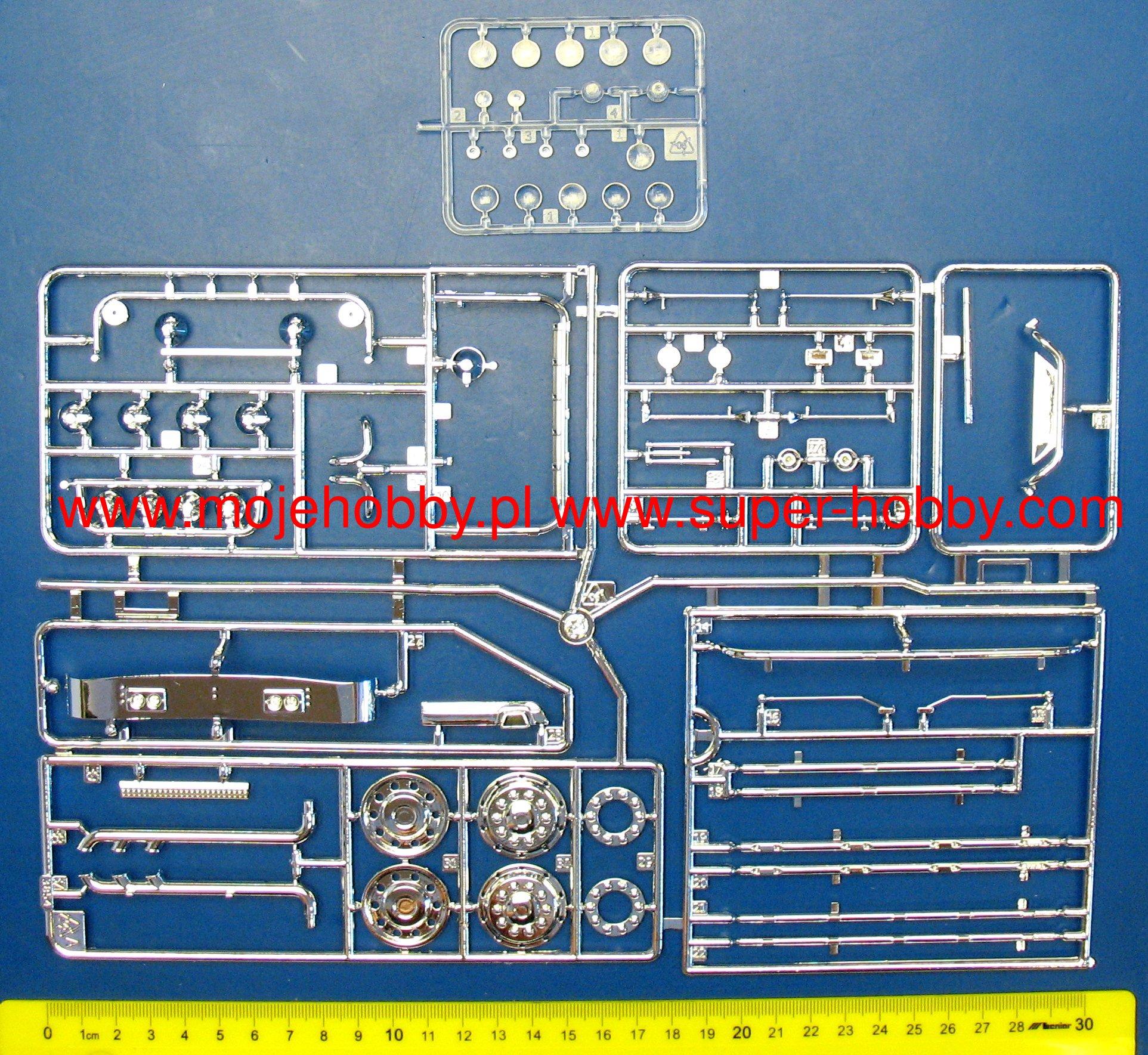 Scania 164l Topclass Italeri 3922 124 Wiring Diagram 1 Ita3922 3