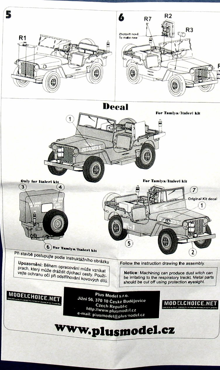 Plus model 241 See Bee Jeep in 1:35