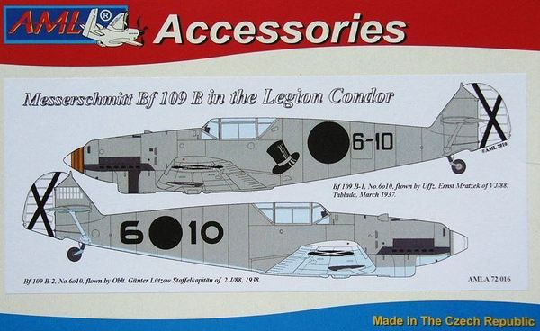 Me Bf 109 B in the legion Condor - Image 1