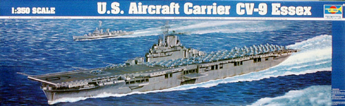 USS Essex Aircraft Carrier WW2 - Image 1