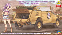 "52160 Wild Egg Girls No.02 Pkw.K1 Kubelwagen Type 82 ""Claire Frost"" w/Figure"
