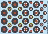 Spitfire British ww2 Roundels Late