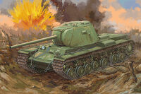 Russian KV-3 Heavy Tank