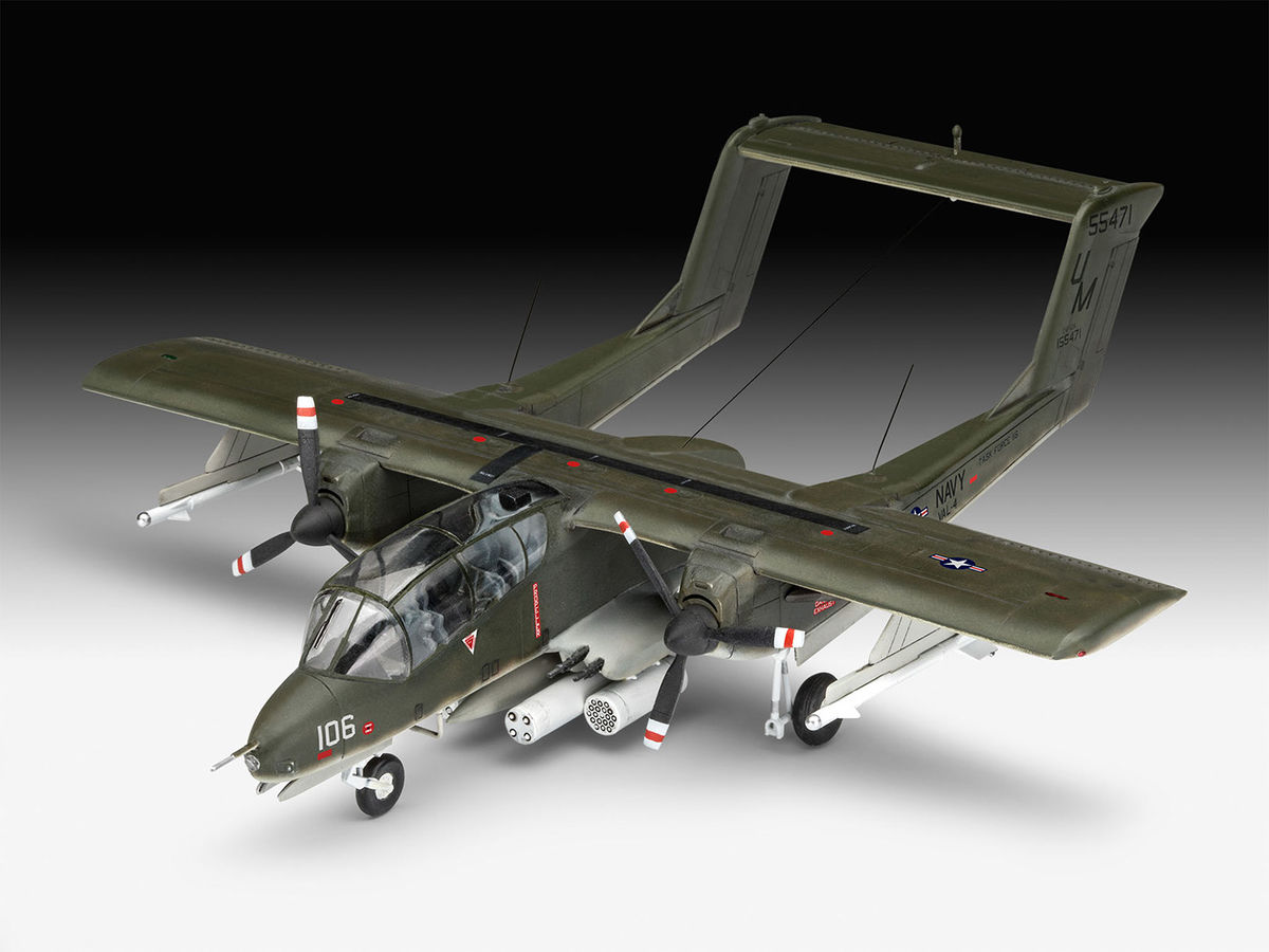REVELL OV-10A BRONCO 1:72 Aircraft Model Kit 03909