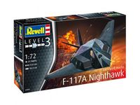 Lockheed Martin F-117A Nighthawk Stealth Fighter Model Set - Image 1