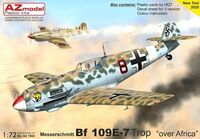 "Bf-109E-7 Trop ""Over Africa"""