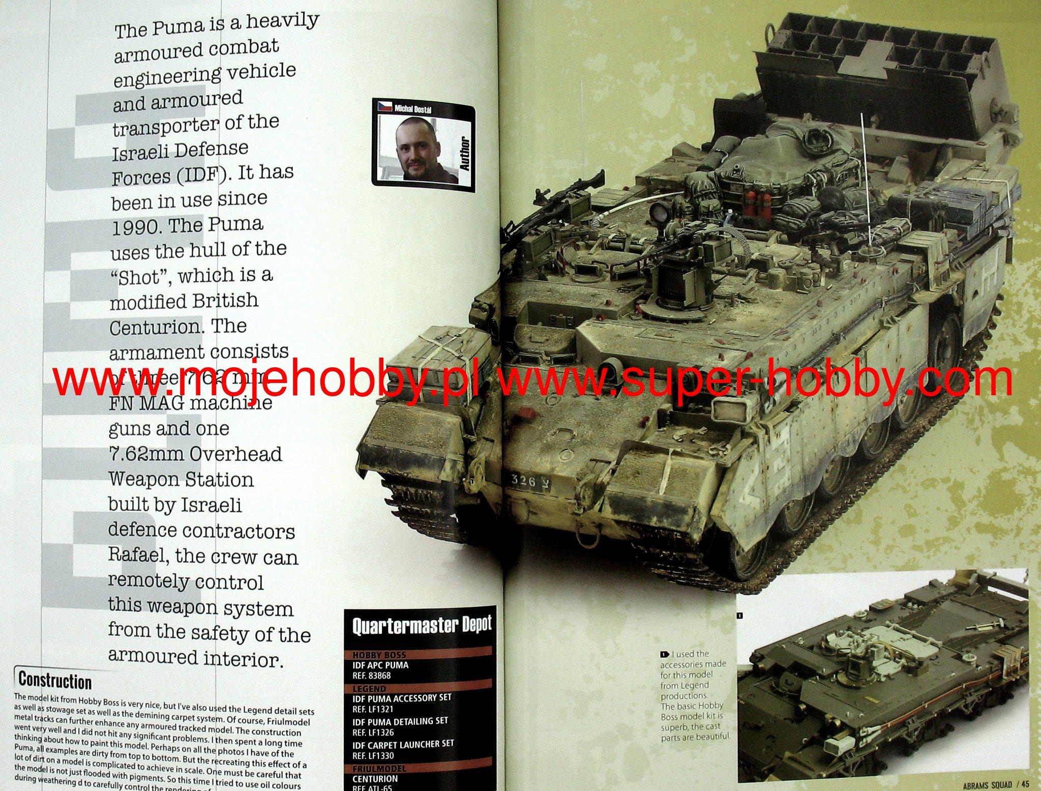 Abrams Squad nr 21 - Leopard Turkish in Syria, M88 In Vietnam RTS: FV-432  Takom