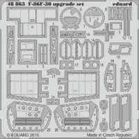 F-86F-30 upgrade set EDUARD Eduard 1163 - Image 1