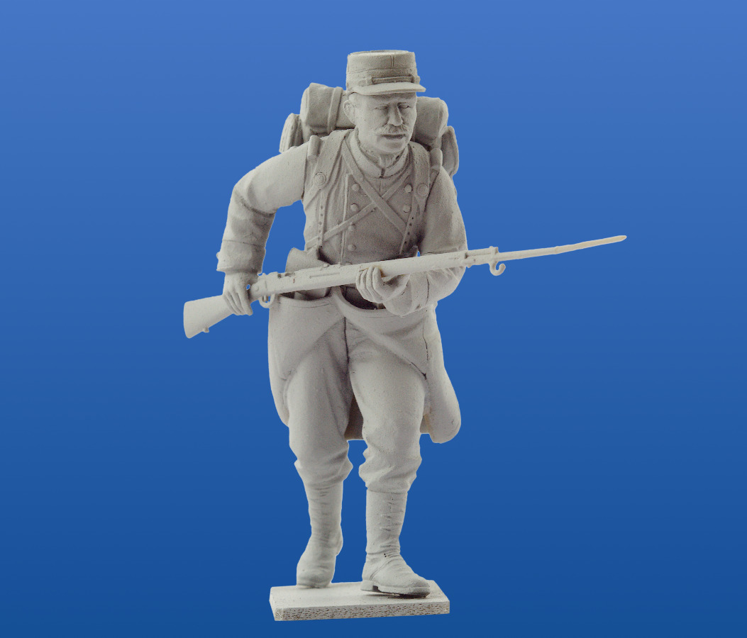 Neu ICM 35705-1:35 French Infantry on the march 4Figur 1914