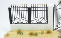 Metal Fence Set A