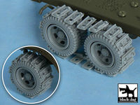 US 2 1/2 ton Cargo Truck Traction devices for Tamiya 32548, 42 resin parts