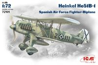 Heinkel He-51 Spanish Nationalist Air Force fighter-biplane - Image 1