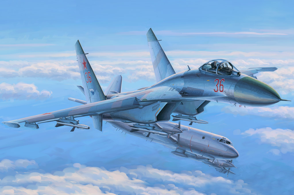 Su 27 Flanker Early Hobby Boss 81712