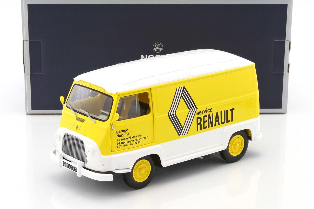 Renault Estafette Assistance Renault 1972 Die Cast Model Norev