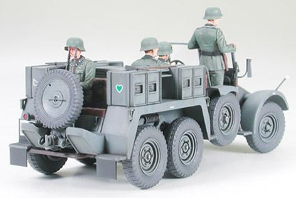 Tamiya 35259 Krupp Protze mit 37mm PAK 1:35