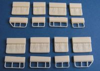 Mi-8/17 Troop seats  for Hobby Boss - Image 1
