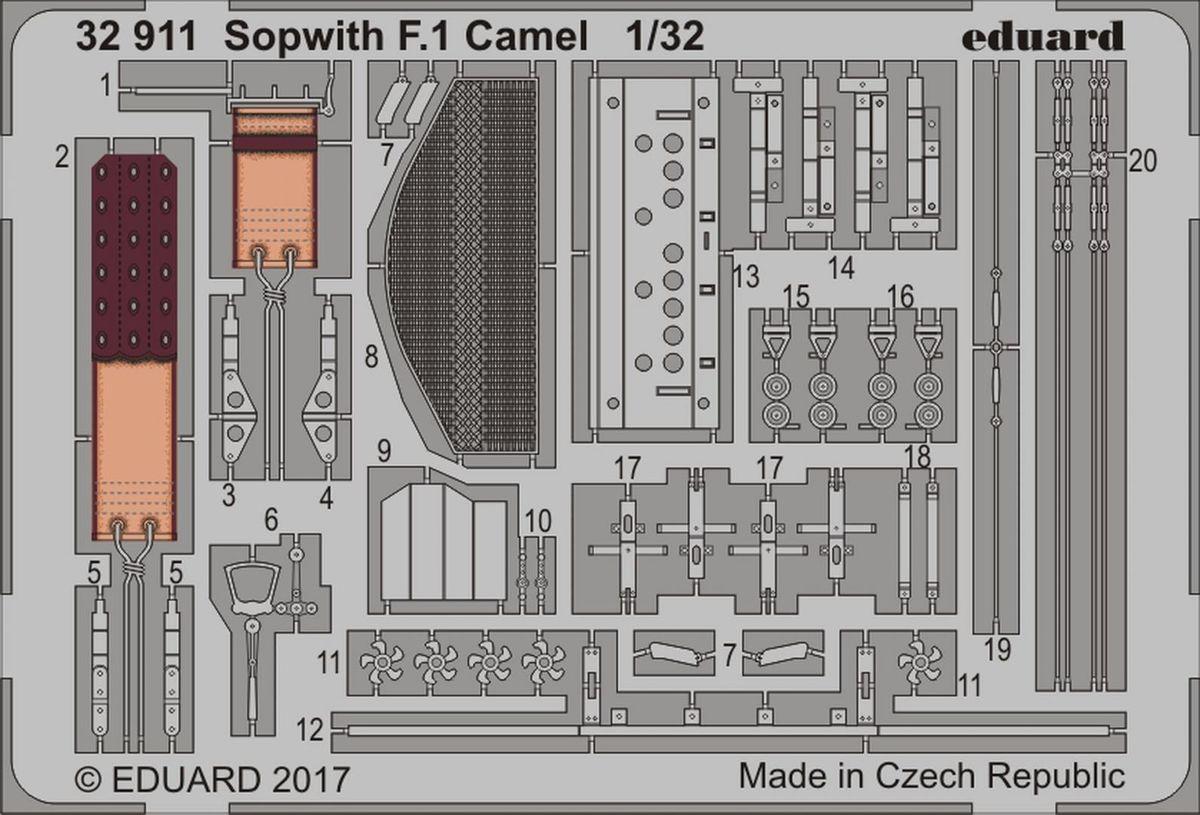 Sopwith F.1 Camel WINGNUT WINGS Eduard 32911