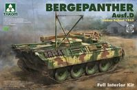 Bergepanther Ausf. D Umbau Seibert 1945 with full Interior Kit
