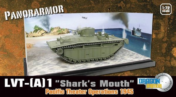 "LVT-(A)1 ""Shark Mouth"" Pacific Theater of Operations 1945 - PanorArmor - Image 1"
