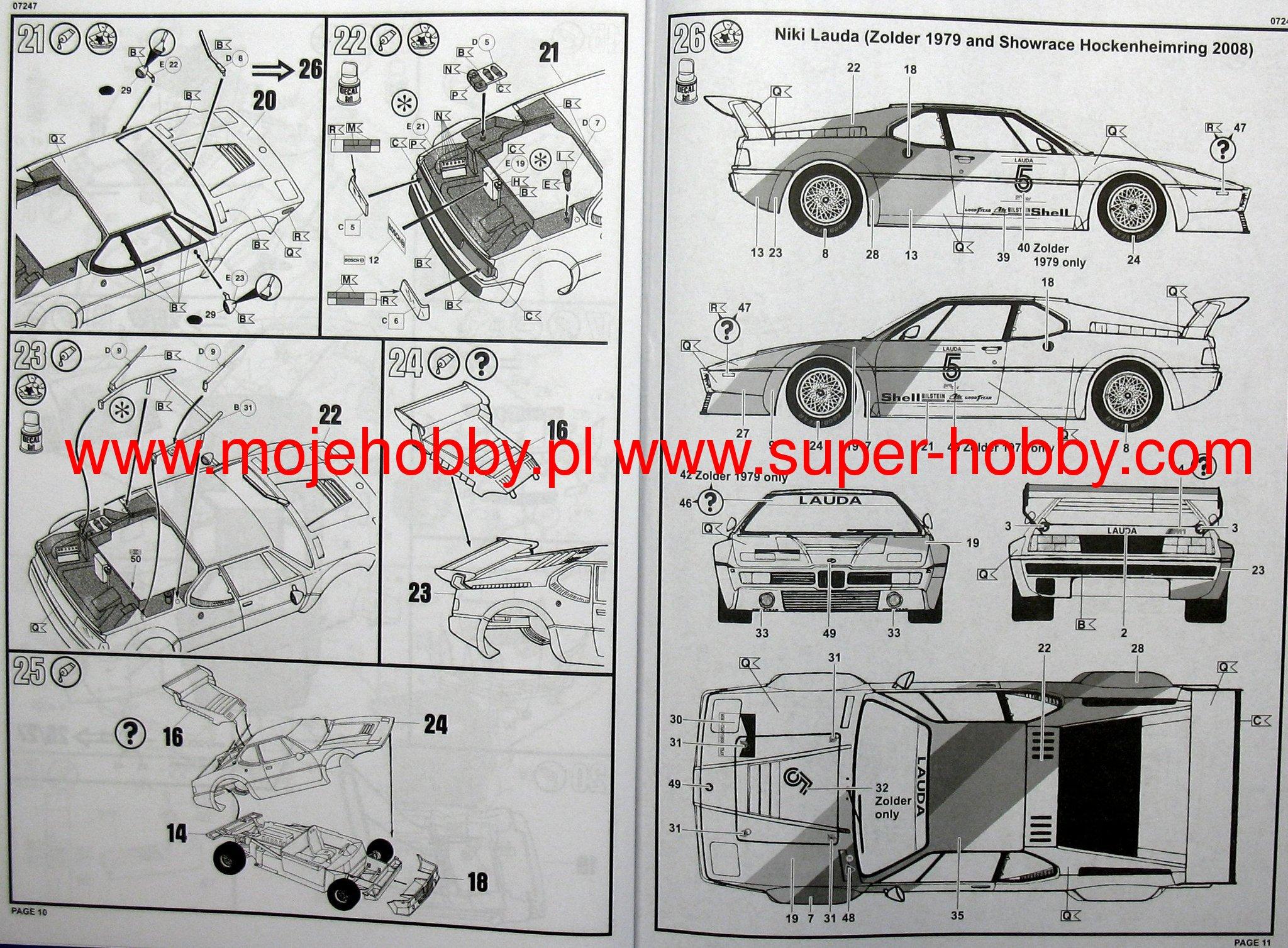 BMW M1 Procar Revell 07247