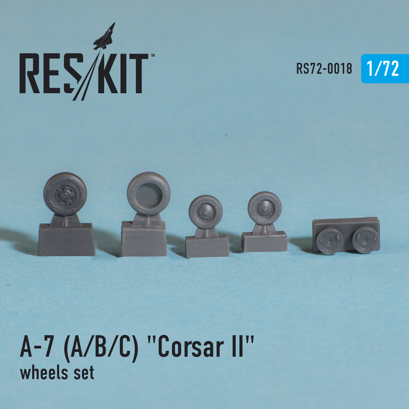 "LTV A-7 ""Corsair II"" (A/B/C/E) wheels set - Image 1"