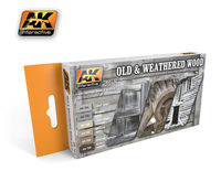 AK 563 OLD & WEATHERED WOOD vol.2 Set