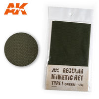 CAMOUFLAGE NET GREEN TYPE 1