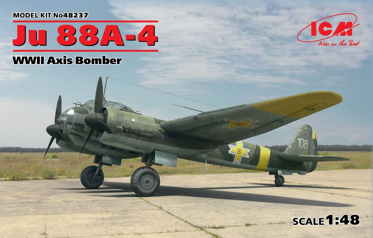 Ju 88A-4, WWII Axis Bomber - Image 1