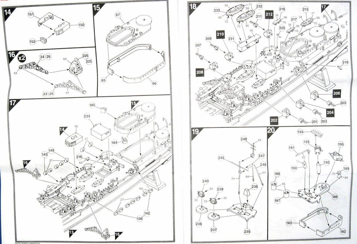 airfix hms belfast instructions